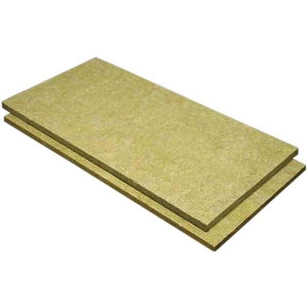Lã de Rocha Isolamento Painel Não Revestido Rocterm PN 70 (70 kg/m3) - 30 mm - 1,35 m x 0,6 m