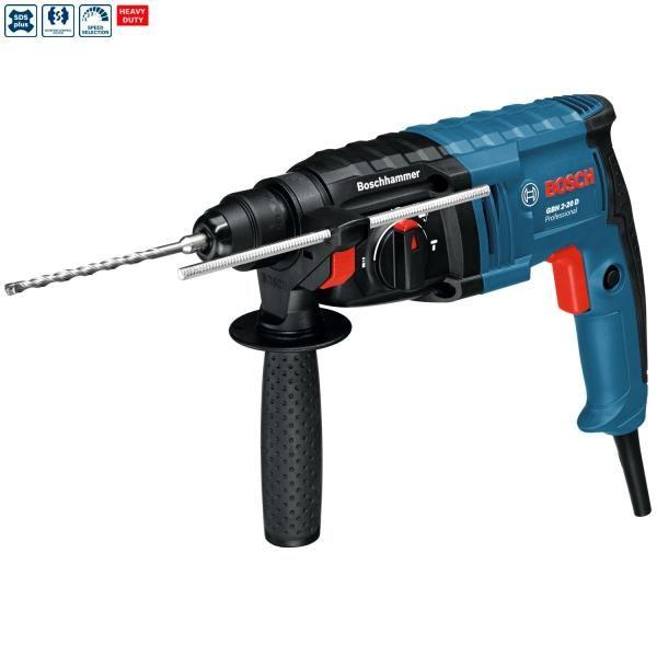 Martelo perfurador Bosch SDS-plus GBH 2-20 D Professional (c/Mala) - 650 W (230 V)