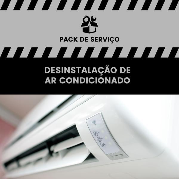 Desinstalação de Ar Condicionado Split - desinstalação