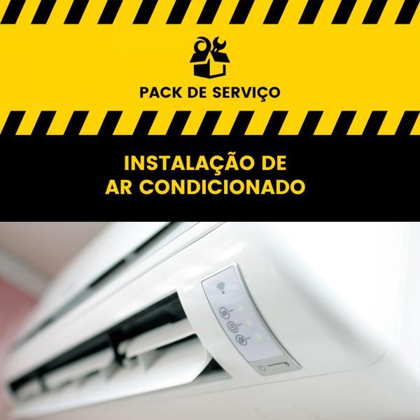 Serviço de Instalação Ar Condicionado Multi Split - 2x1 (2 unid. interior + 1 unid. exterior)