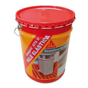 Revestimento Elástico de Impermeabilização Sika Sikagard 570 W Pele Elástica