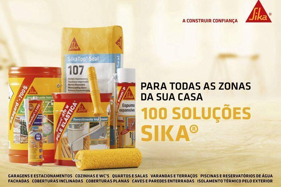 100 Soluções Sika®