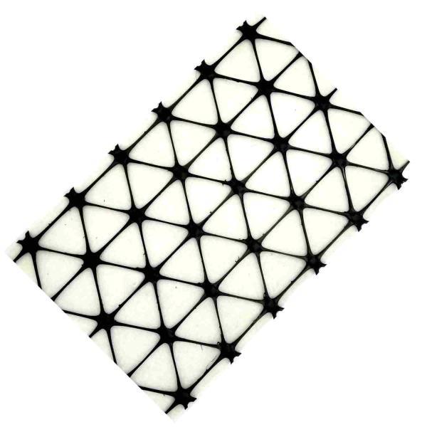 Geogrelha Tensar Triaxial TX com Geotêxtil - TriAx TX130S-GD - 50 x 4 m