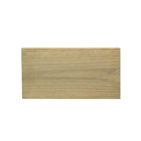 Travessa em madeira pinho Pirinéus tratada - 50 mm x 50 mm x 3 m (360 unidades)