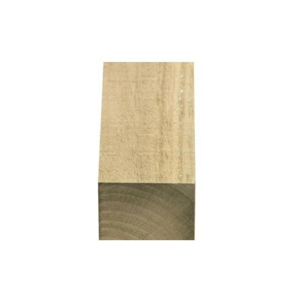 Barrote em madeira pinho Pirinéus tratada - 50 mm x 100 mm x 3 m (200 unidades)