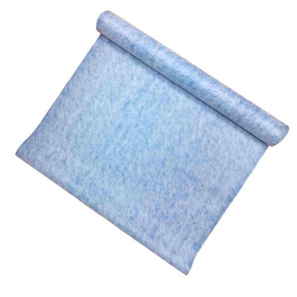 Tela Impermeabilizante Baixa Espessura Parede e Pavimento Polipropileno e Polietileno 275gr/m2 Azul - Azul (275 gr) - 1 x 5 m