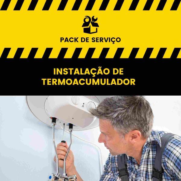 Serviço de Instalação de Termoacumulador - com consumíveis