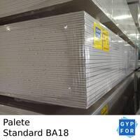 Placa de Gesso Cartonado Gypfor Standard BA18