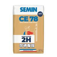 Massa para Juntas de Placas de Gesso Cartonado Semin CE 78 2h