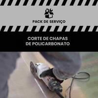 Serviço de Corte de placas de policarbonato